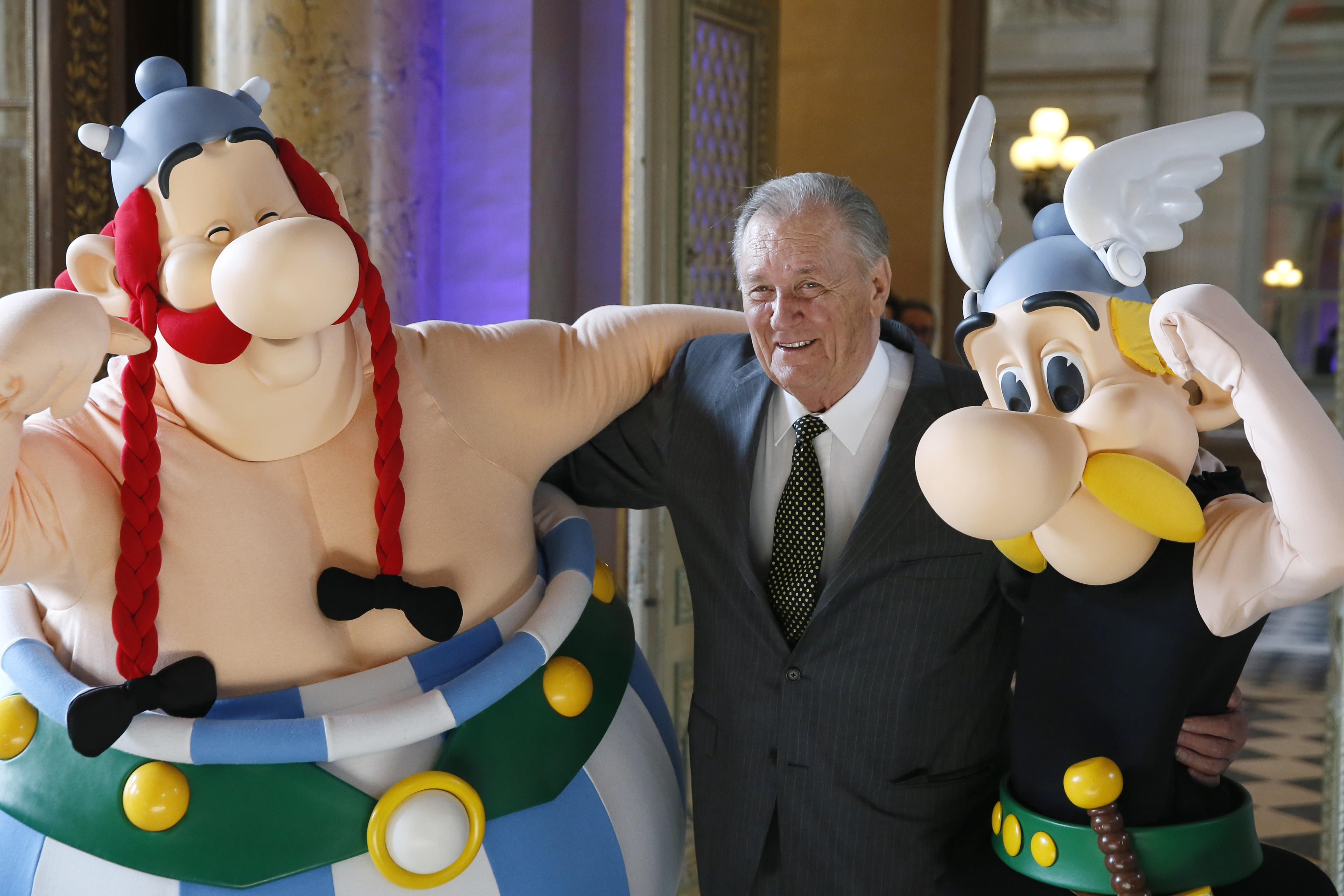Albert Uderzo: Asterix co-creator and illustrator dies aged 92