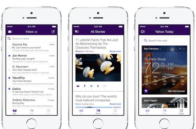 Yahoo Mail for iOS overhaul simplifies correspondence, sprinkles in news