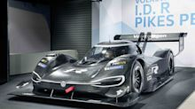 This is Volkswagen's ludicrous electric Pikes Peak racer
