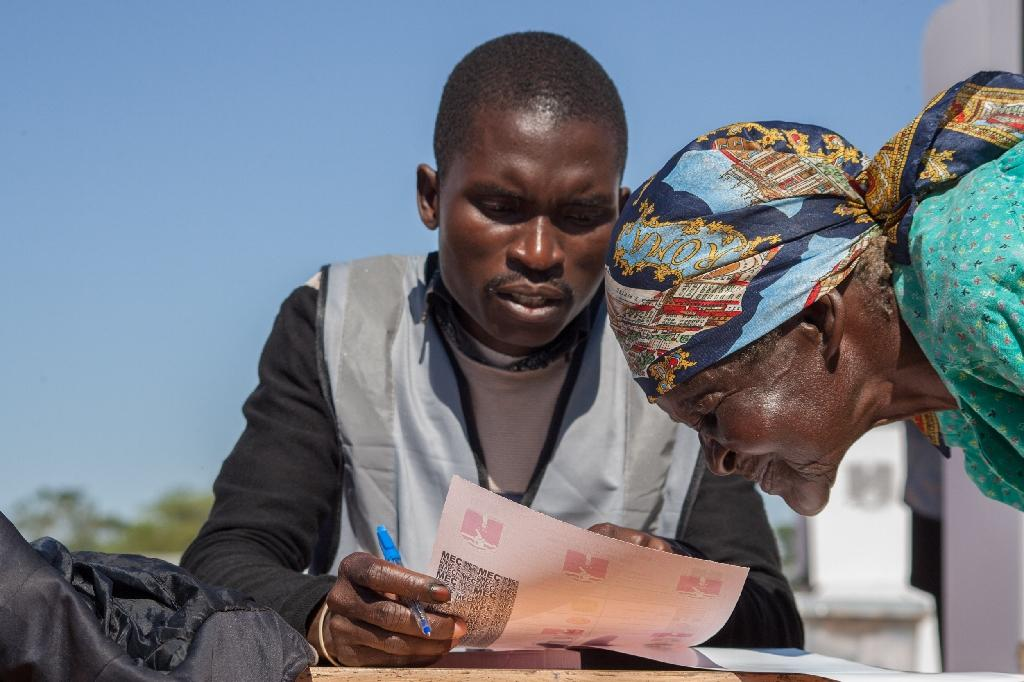 Millions of voters cast ballots in the election which could see President Peter Mutharika win a second term
