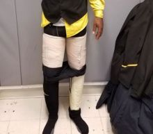 Jamaican airline's flight crew member caught with four packages of cocaine taped to legs