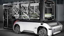 Germany's aerospace center has unveiled a concept modular electric vehicle that can change from a bus to a cargo van