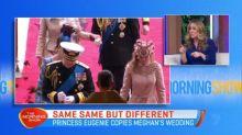Princess Eugenie copies Meghan's wedding