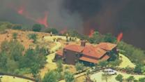 California Wildfire Contained Due to Change in Weather