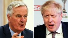 Michel Barnier accuses Boris Johnson of 'backtracking' in scathing attack as he warns time is running out for post-Brexit deal