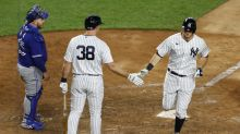 Yanks blow out Blue Jay 20-6, move into 2nd place in AL East