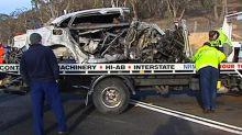 Boy, 11, only survivor of horror triple fatal crash