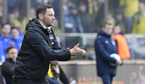 Bundesliga: Hertha: Dardai in Gladbach ohne Brooks aber mit Sohn Palko