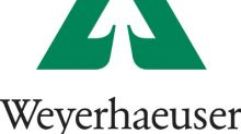 Weyerhaeuser reports second quarter results