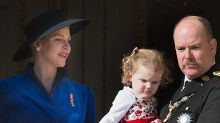 Princess Charlene's unimpressed twins steal the show on royal balcony