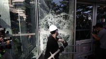 Las imágenes de los enfrentamientos entre Policía y manifestantes en Hong Kong