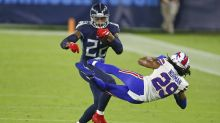 Tennessee Titans stroll past Buffalo Bills after Covid-enforced delay