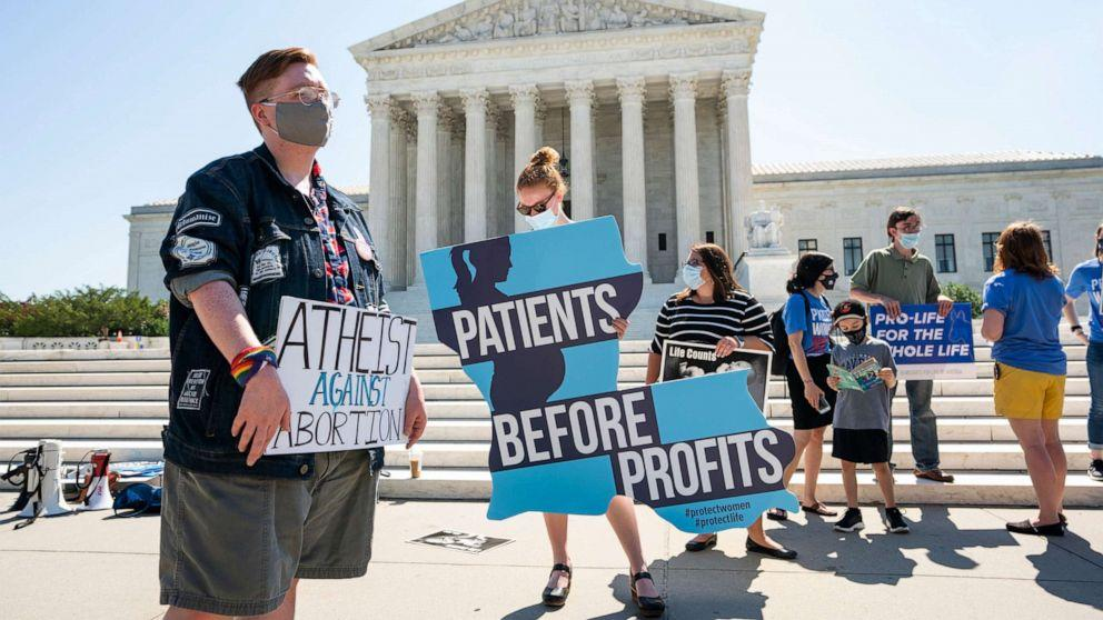 Abortion rights advocates say Supreme Court ruling is a victory but 'our fight is far from over'