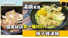 【湯鍋食譜】梅子雞湯鍋 開胃秘訣靠一種材料