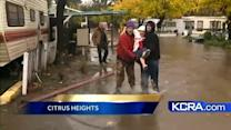 Man rescues grandma, 93, from flooded Citrus Heights mobile home park