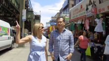 John Leguizamo takes Katie Couric on a tour of his old Queens neighborhood