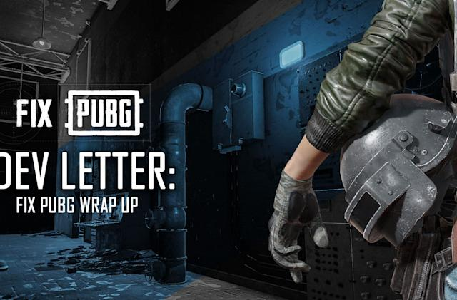 'PUBG' details its bug-fixing achievements and plans for next year