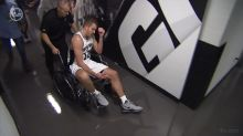 Report: Spurs' David Lee suffered partially torn patella tendon in Game 3