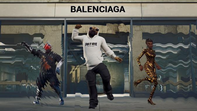 Balenciaga Fortnite crossover