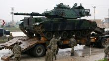 Turkey says could act in Syria unless U.S. withdraws support for Kurdish force