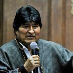 Morales arrives in Argentina to seek asylum