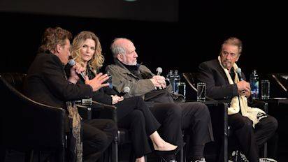 Michelle Pfeiffer Politely Sidesteps 'Sexist' Question About Weight At 'Scarface' Reunion Panel