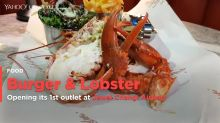 Burger & Lobster finally opens at Jewel Changi Airport