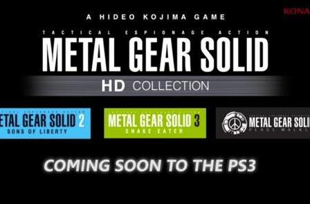 Konami reveals Metal Gear Solid, Zone of the Enders, Silent Hill HD remakes