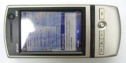 i-mate Ultimate 6150 catches FCC on a good day