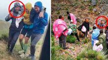 Villager's selfless act saved freezing marathon runners
