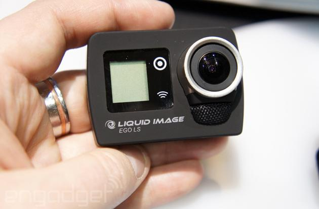 Hands-on with Liquid Image's LTE-capable Ego LS action cam