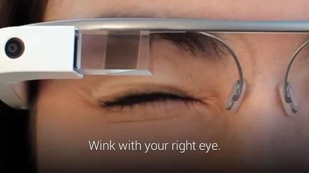 Google Glass XE 12 update lets you wink to capture photos, adds new Hangouts and YouTube glassware