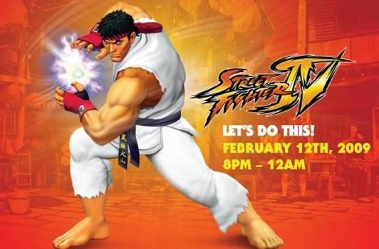 PSA: Street Fighter IV launch party open to the public