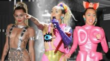All of Miley Cyrus' Outfit Changes at the 2015 MTV VMAs