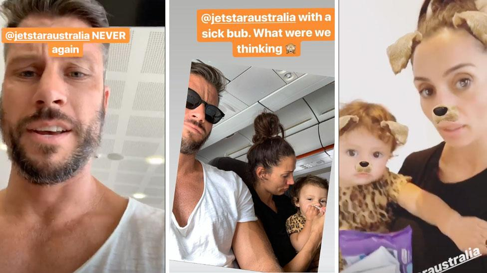 Sam Wood and Snezana slam 'incompetent' Jetstar