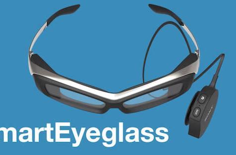 Sony's SmartEyeglass prototype makes Google Glass look chic