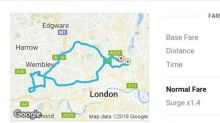 Woman charged £85 for 'five-minute' Uber ride after falling asleep