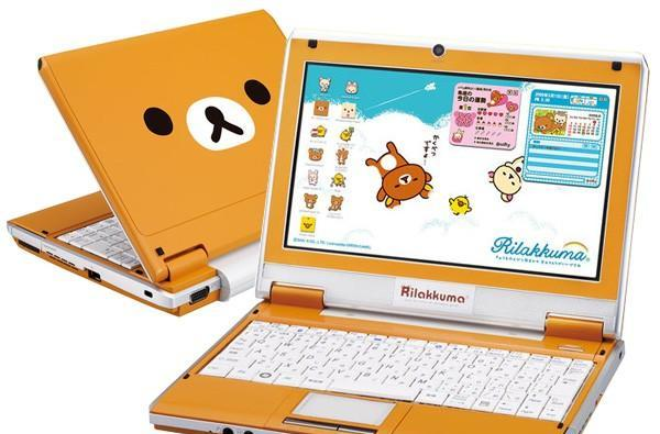 Bandai RilakKuma netbook suffers from serious supercuteitis