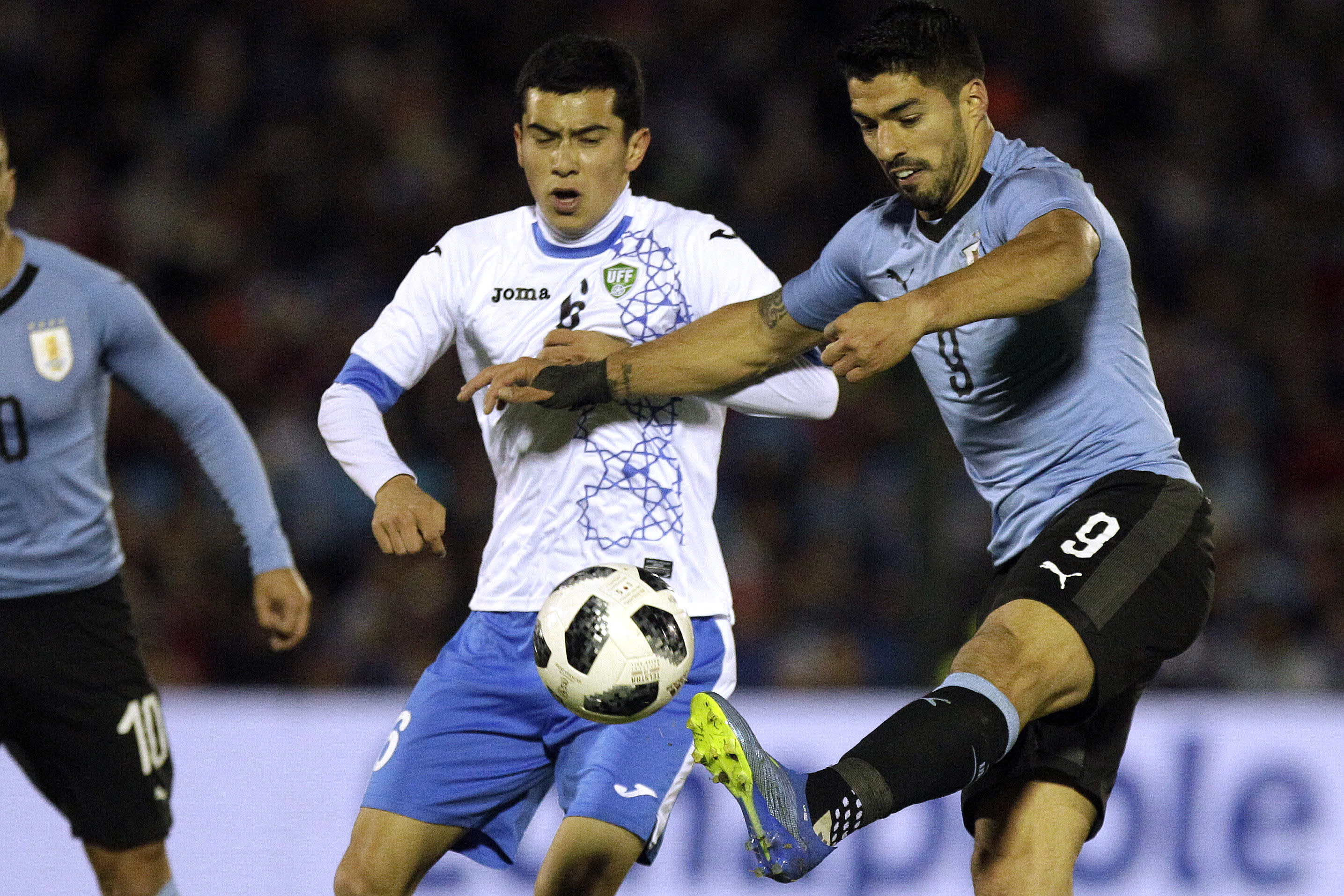 Luis Suarez seeks World Cup redemption as he reaches 100