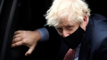 UK PM Johnson says COVID cases rising but lockdown approach correct