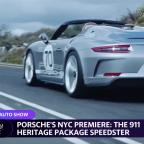 Porsche debuts a hot new model at the New York Auto Show