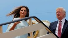 Melania Trump just rejected Donald Trump's attempt to hold her hand