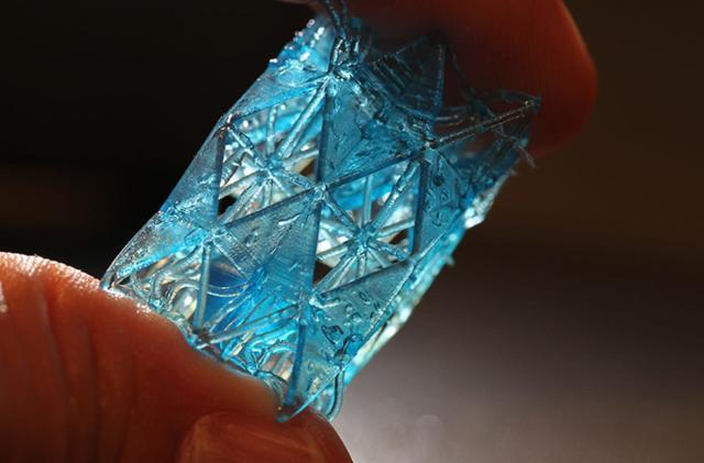 Researchers create bone-inspired 3D-printed building materials