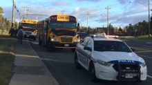 No injuries in 3-vehicle collision involving school bus in St. John's