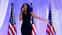 Obamas dance to 'Let's Stay Together'
