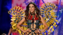 Sexy cowgirl! Braless Alessandra Ambrosio stuns in leather boots and hat for saucy lingerie shoot