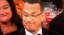 Tom Hanks' Golden Globes Expression Is Now An Entertaining Photoshop Battle