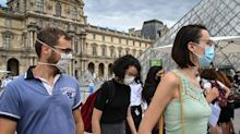France plans to make masks mandatory at work as Paris is declared a coronavirus 'red zone' again