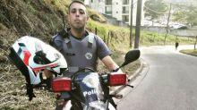 PM que agrediu motoboy em SP paga de influencer nas redes sociais