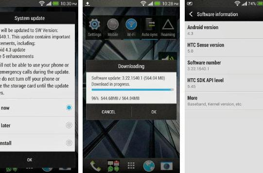 Global HTC One gets Android 4.3 update, improved low-light camera performance